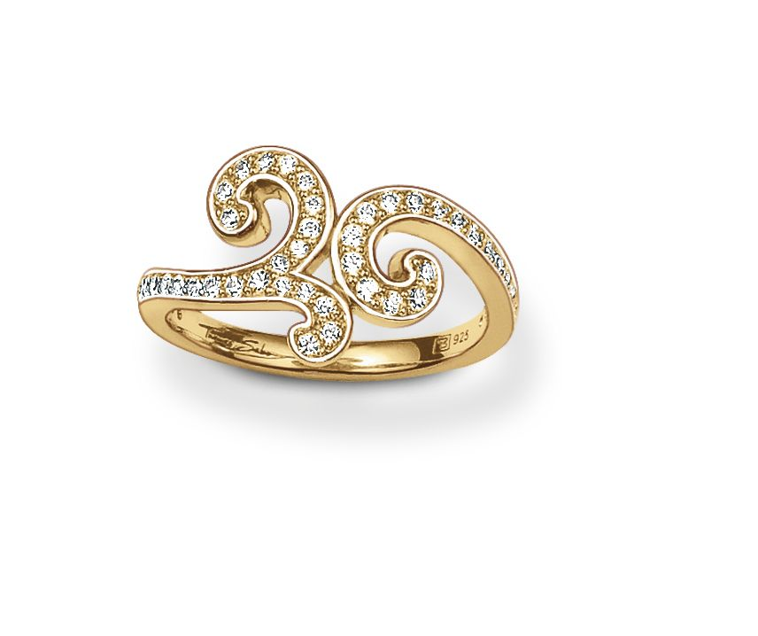 Special additions arabesque style ring