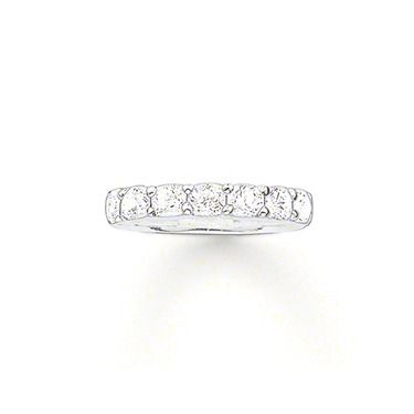 Glam and soul cz stone set ring