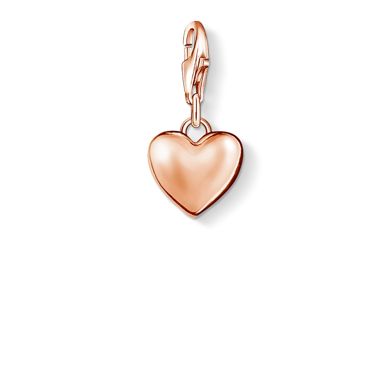 thomas sabo charm club heart pendant rose gold octer. Black Bedroom Furniture Sets. Home Design Ideas