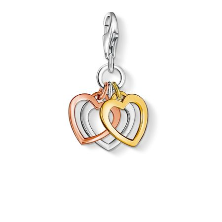 Thomas Sabo Charm club hearts pendant