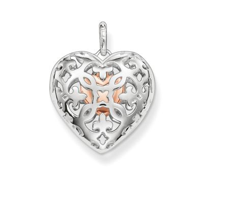 Thomas Sabo Open your heart locket with small heart inside