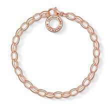 Thomas Sabo Charm club charm bracelet in rose gold