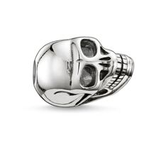 Karma Bead small skull