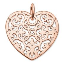 Thomas Sabo Glam & soul arabesque heart pendant