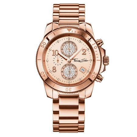 Thomas Sabo Glam & soul rose gold chronograph watch
