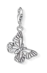 Charm club butterfly pendant