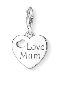 Charm club love mum pendant