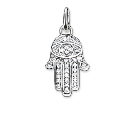 Thomas Sabo Karma beads hand of fatima pendant