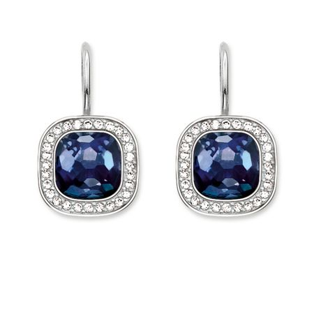 Thomas Sabo Secret of cosmo blue corundum earrings