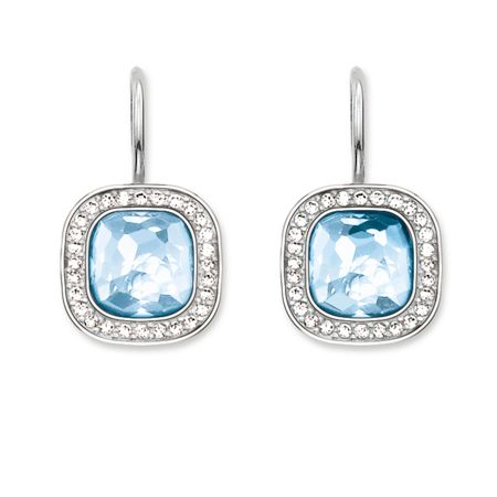 Thomas Sabo Secret of cosmo blue spinel earrings