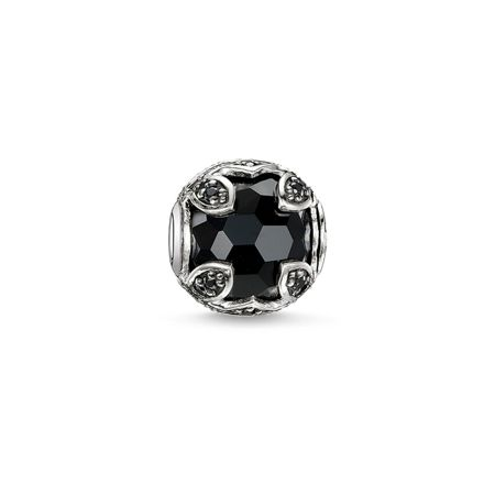 Thomas Sabo Karma beads lotus black bead