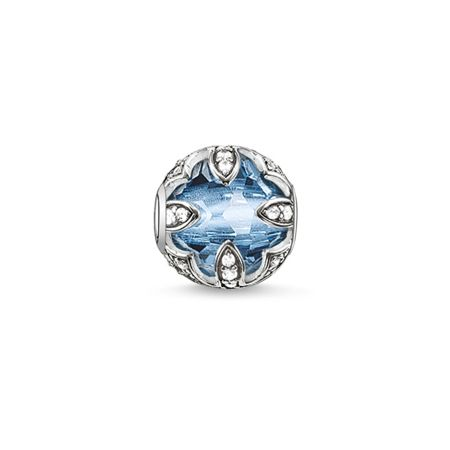 Thomas Sabo Karma beads lotus blue bead