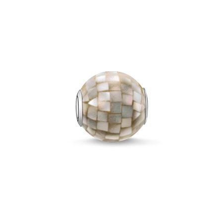 Thomas Sabo Karma beads grey mother of pearl bead