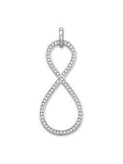 Glam & soul silver infinity pendant