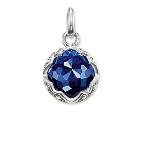 Thomas Sabo Purity of lotos blue corundum pendant
