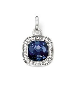 Secret of cosmo blue corundum pendant