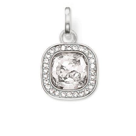 Thomas Sabo Secret of cosmo white zirconia pendant