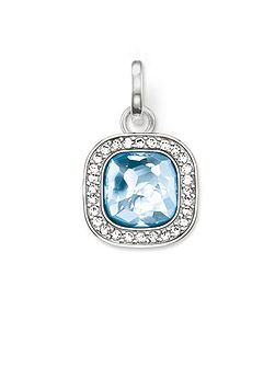 Secret of cosmo blue spinel pendant