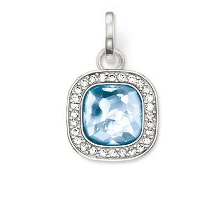 Thomas Sabo Secret of cosmo blue spinel pendant