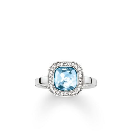 Thomas Sabo Secret of cosmo blue spinel ring
