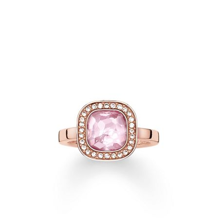 Thomas Sabo Secret of cosmo pink corundum ring