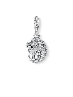 Charm club hedgehog pendant