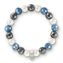 Charm club royal blue stone bracelet