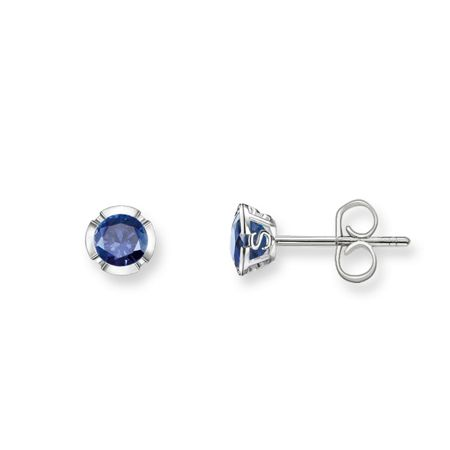 Thomas Sabo Glam & soul dark blue silver ear studs