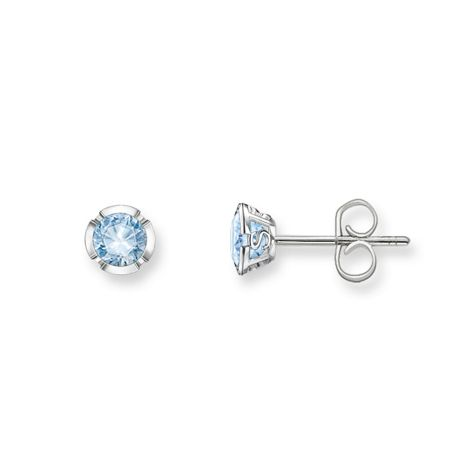 Thomas Sabo Glam & soul light blue silver ear studs