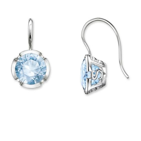 Thomas Sabo Glam & soul ts blue silver earrings