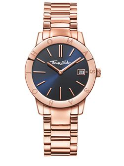 Glam & soul rose stainless steel watch