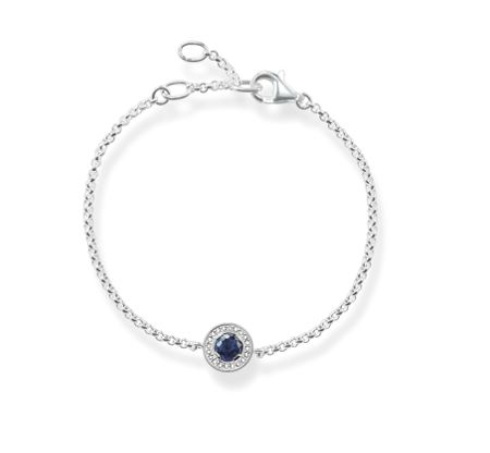 Thomas Sabo Light of luna blue corundum bracelet