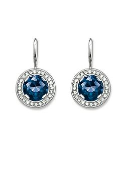 Light of luna corundum pave earrings