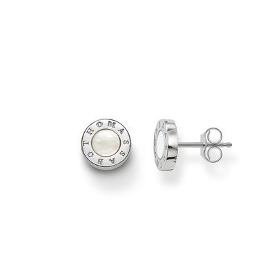 Thomas Sabo Glam & soul mother of pearl ear studs White