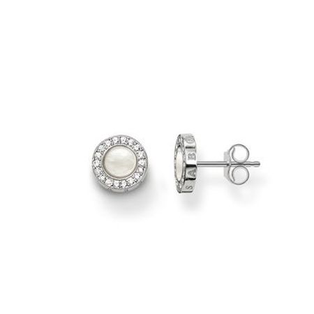 Thomas Sabo Glam & soul mother of pearl ear studs