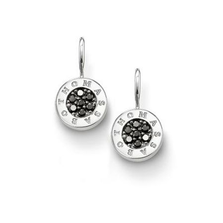 Thomas Sabo Glam & soul black pave earrings