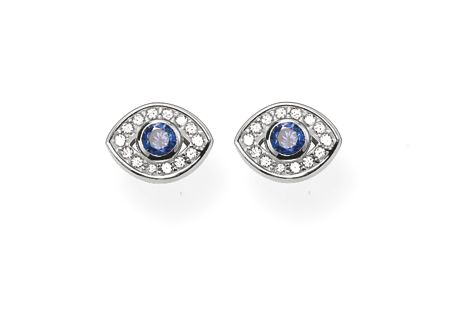Thomas Sabo Glam & soul blue nazar eye ear studs