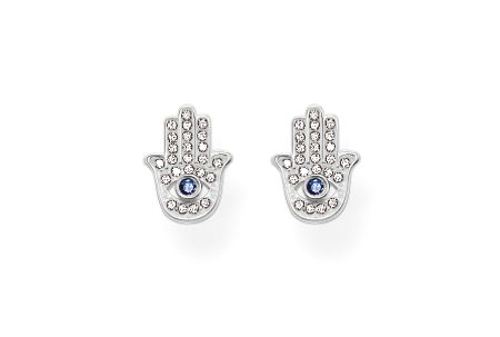 Thomas Sabo Glam & soul hand of fatima ear studs