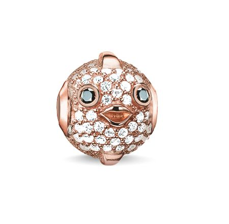 Thomas Sabo Karma beads rose pufferfish bead