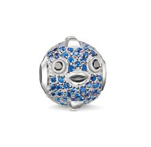 Thomas Sabo Karma beads blue pufferfish bead