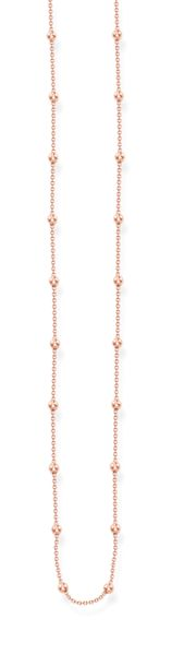 Thomas Sabo Glam & soul rose gold dots necklace