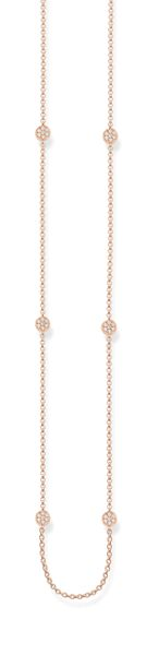 Thomas Sabo Glam & soul pave set circle necklace