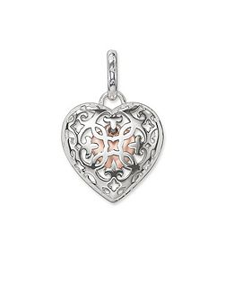 Glam & soul small heart locket pendant