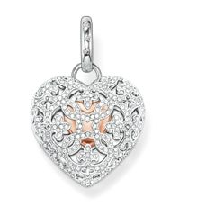 Thomas Sabo Glam & soul pave heart locket pendant