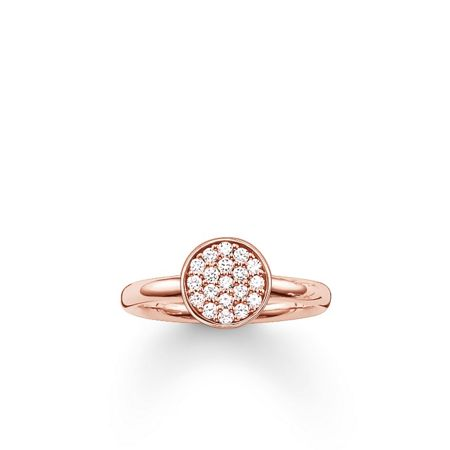 Thomas Sabo Sparkling circles pave set ring