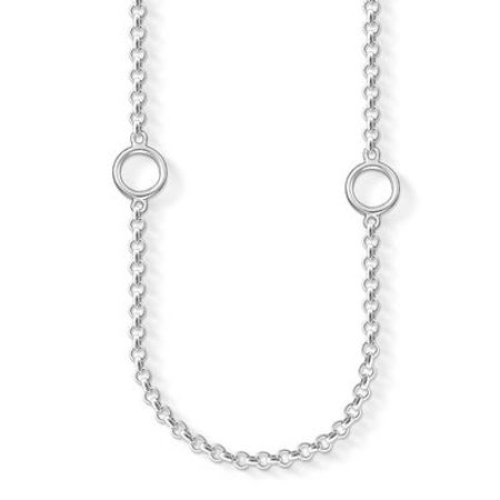 Thomas Sabo Charm club long silver necklace