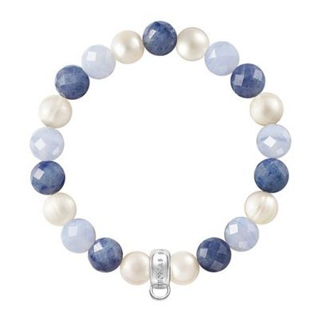 Thomas Sabo Charm club blue mix stone bracelet