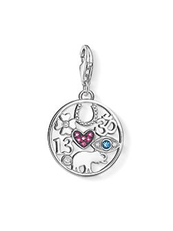 Charm club luck pendant