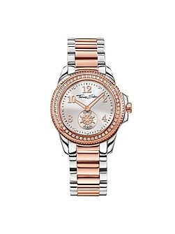 Glam & soul two-tone classic watch