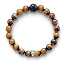 Rebel at heart tiger`s eye bracelet